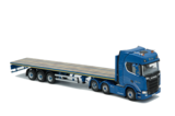 Blue Crown Scania New S-series Highline 6x2 & Flatbed 3 axle_