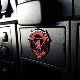 Sticker V8power logo 3D_