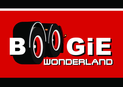 Sticker Boogie Wonderland Rood
