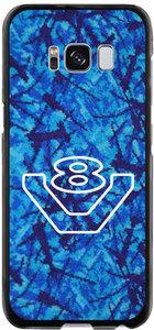 Telefoonhoesje V8 logo Blauw