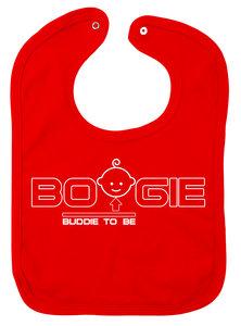 Slabbetje Boogie Buddie to be (Rood)