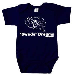 Romper Swede Dreams (Navy Blue)