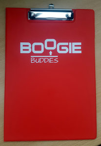 Boogie Buddies klembord