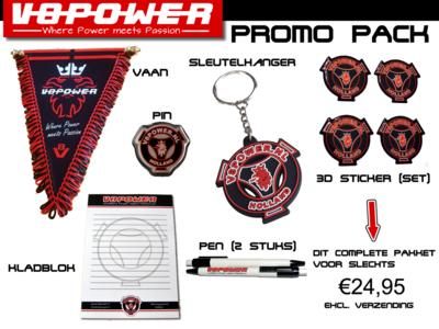 V8power Promo Pack