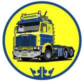 Sticker-rond-143-blauw-geel