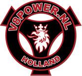Sticker-V8power-Holland