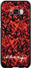 Telefoonhoesje-DAF-letters-Rood